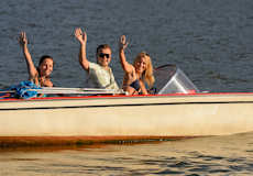 Summer Fun at The Lodge on Lake Detroit