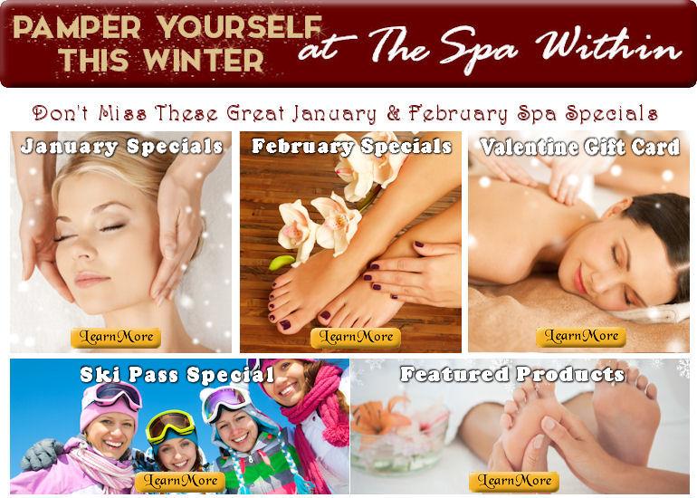 January - February Spa Specials