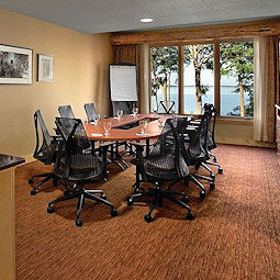 Reserve our lakefront Pokegama Beach Board Room